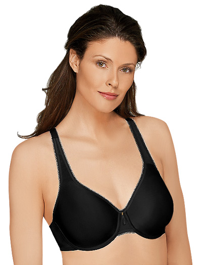 Wacoal Basic Beauty Full Coverage Underwire Bra 855192 - Black
