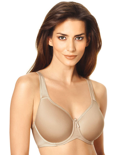 Wacoal Basic Beauty Spacer Contour Underwire Bra 853192 - Naturally Nude
