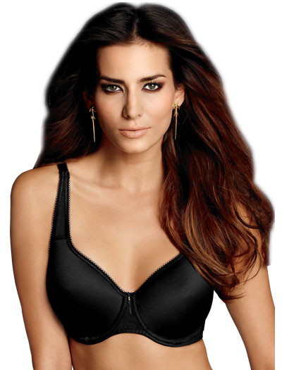 Wacoal Basic Beauty Spacer Contour Underwire Bra 853192 - Black