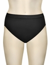Wacoal Clean And Clear Hi-Cut Brief 871163 - Black