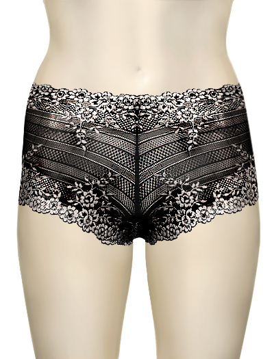 Wacoal Embrace Lace Boy Short 67491 - Black