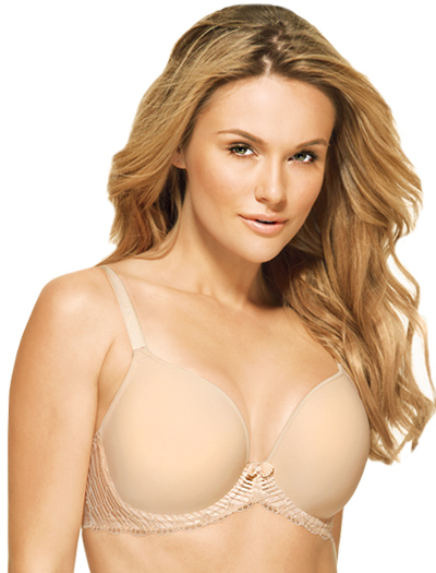 Wacoal La Femme Contour Wire Molded Bra 853117 - Naturallly Nude