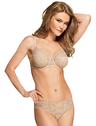Wacoal Sensation Full Figure Underwire Bra 855116 - Natural Nude