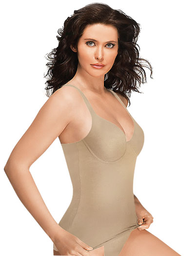 Wacoal Try a Little Slenderness Camisole 80265 - Toast