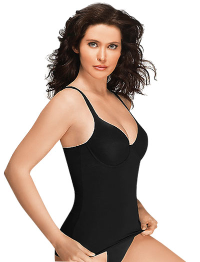 Wacoal Try a Little Slenderness Camisole 80265 - Black
