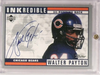 1999 Upper Deck Retro Inkredible Walter Payton autograph auto #WP