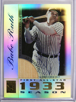 2003 Topps Tribute All Star Edition Babe Ruth bat #TR-BR