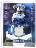 2010 Certified Mirror Gold Emmitt Smith autograph auto patch #D09/10