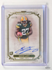 2013 Topps Museum Collection Eddie Lacy autograph auto rc rookie #D13/25