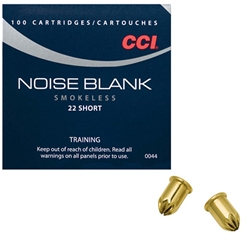 CCI 22 Short Smokeless Blanks: 50 Boxes/5000 Rounds