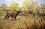 German Shorthaired Pointer: Class Act by Ross B. Young - giclee