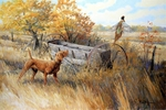 "<font size=""2"" font color=""red"">NEW</font> Vizsla: Showdown at the Van Brunt � giclee"