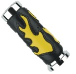 BRIGHT YELLOW Flame Grips