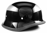 Carbon Fiber German Helmets