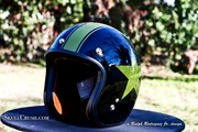 Custom Painted Helmet | Military Star