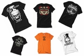 Grab Bag Biker T Shirt