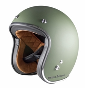 Military Green Vintage DOT Helmet