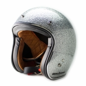 Ice Metal Flake Vintage Helmet
