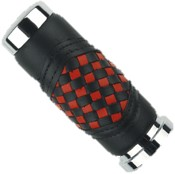 RED/BLACK Braided Grips
