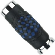 STATES BLUE/BLACK Braided Grips