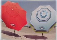 2015 Tommy Bahama Beach Umbrella Red or Blue 7 foot