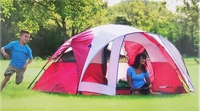 Camp Valley Dome Tent 8x7 hold up 4 people
