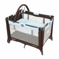Graco Pack N Play With Bassinet - Includes a Bonus Sheet