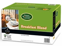 Green mountain breakfast blend coffee K-Cup Packs - 80 count.