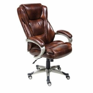 Lane Executive Leather Big and Tall Chair