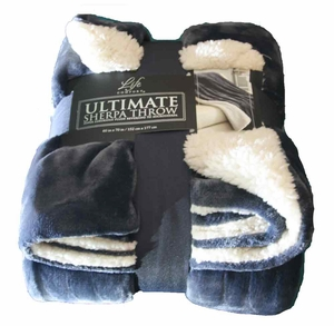 Lifes Comfort Ultimate Sherpa 2016 made with 100% Polyester fabric