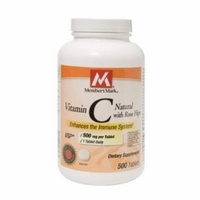 Member's Mark Vitamin C with Rose Hips - 500 ct