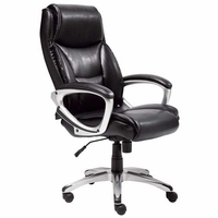 Memory Foam Bonded Leather Office Chair