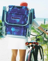 New 2015 Tommy Bahama Backpack Cooler Chairs with Storage Pouch