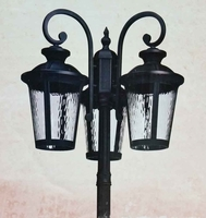 Outdoor 3 Light Post Lantern