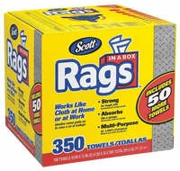 SCOTT Rags for Heavy-Duty Clean-Up - 350 ct.