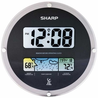 Sharp Digital Wall Clock