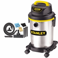 Stanley 4.0HP 4 Gallon Stainless Steel wet/Dry Vac