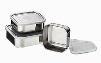 Tramontina 3pc Square Covered Container Set
