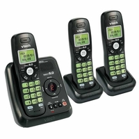 VTech 3 Handset Cordless Answer System w/ Caller ID & Call Waiting