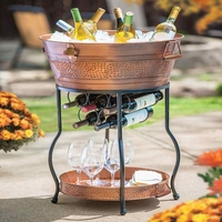 Wine Tub with Stand and Tray