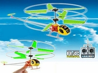 Yellow Dragonfly King toy Helicopter