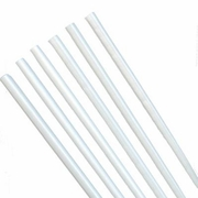 "16"" White 1/2"" Poly-Dowels™ 100pc. Case"