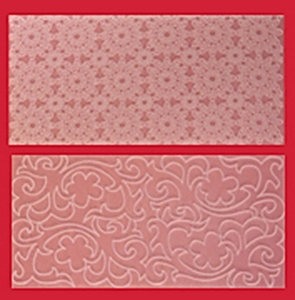Fmm Sugarcraft Vintage Lace Impression Mats Set 3 Cutimp3