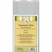 Lace Impression Mat Assortment (4) by CK Products