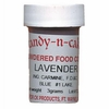 Lavender Powdered Food Color, 3g by Cake-n-Candy