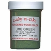 Lime Green Powdered Food Color, 18g by Candy-n-Cake