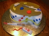 Mame Wolfe Artists Palette Cake