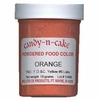 Orange Powdered Food Color, 18g by Candy-n-Cake