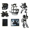 Patchwork Cutters Pirates Set