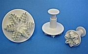 PME Snowflake Plunger Cutter Set